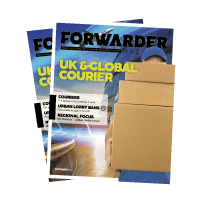 September 2017, 'UK & International Courier'